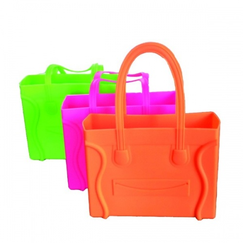 Smile Silicone Tote Bag