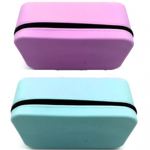 Waterproof silicone cosmetic bag