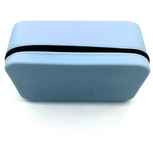 Candy color silicone cosmetic makeup bag