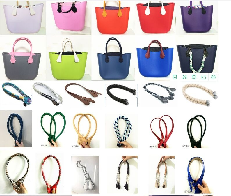 obag handles and inner bag